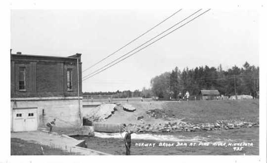 Norway Brook Dam at Pine River