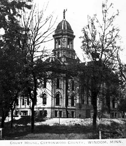 Cottonwood County Courthouse, ca. 1905