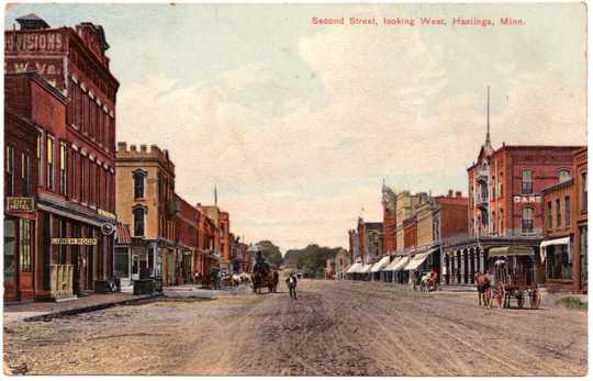 Second Street in Hastings