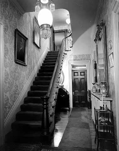Staircase inside LeDuc Historic Estate