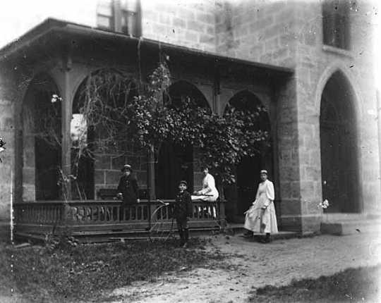 Porch of the LeDuc Historic estate