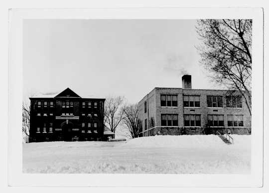 Photograph of Harmony High School and Elementary School, 1941