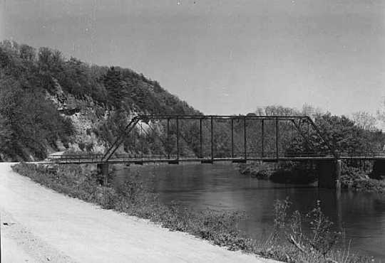 View of Bridge over Root River