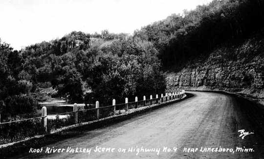 Photograph of Root River Valley