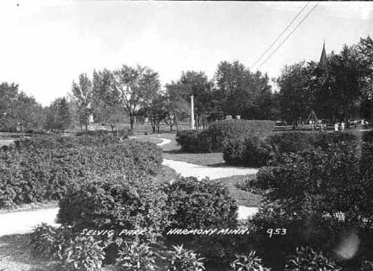 Photograph of Selvig Park in 1950