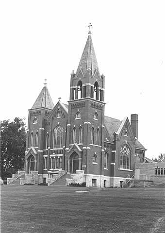 Photograph of Greenfield Lutheran Church, circa 1973