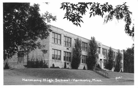 Photograph of Harmony High School, 1941