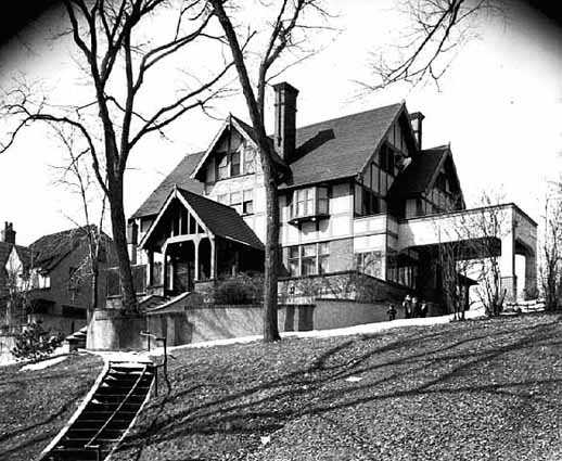 The last Schall family home