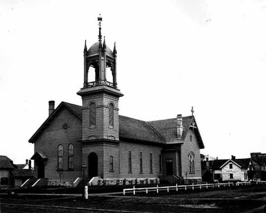 Photograph of First Baptist Church, Minneapolis