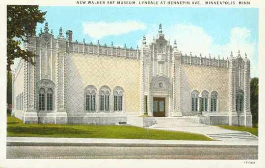 "The ""new"" (1927) Walker Art Museum"