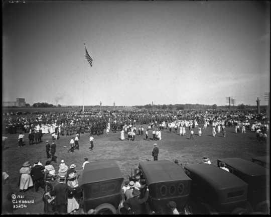 Victory Memorial Drive dedication ceremony