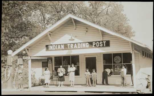 Mille Lacs Indian Trading Post, 1929