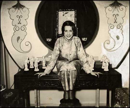 Booth at the 1934 St. Paul Folk Festival