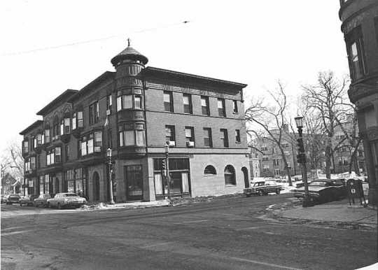 Photograph of Dacotah Building viewed from the north side of Selby Avenue