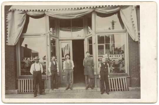 John Lineer's shoe store