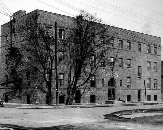 Black and white photograph of Neighborhood House, St. Paul, 1924.