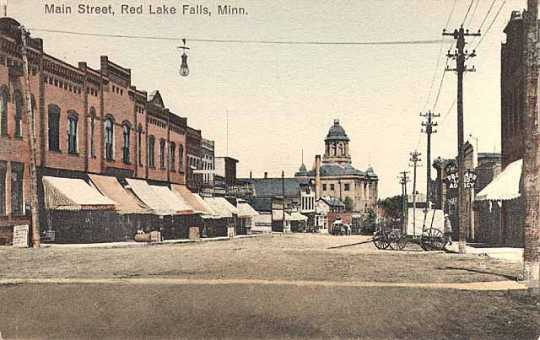 Main Street, Red Lake Falls