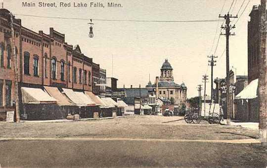 Main Street, Red Lake Falls