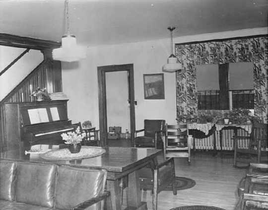 Parlor of the Women's State Reformatory, Shakopee