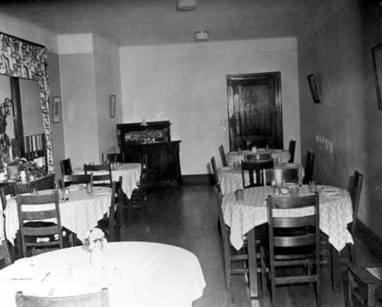 Dining room of the Women's State Reformatory, Shakopee