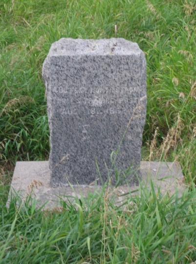 Marker at the site of Forbes' trading post