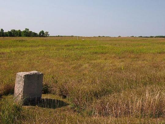 Birch Coulee battlefield monument
