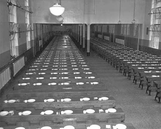 Dining hall in Minnesota State Prison, Stillwater
