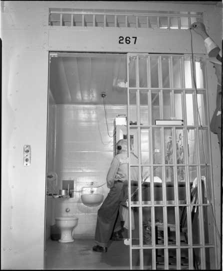 Cell in Minnesota State Prison, Stillwater