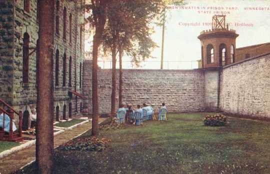 Women inmates at Minnesota State Prison, Stillwater