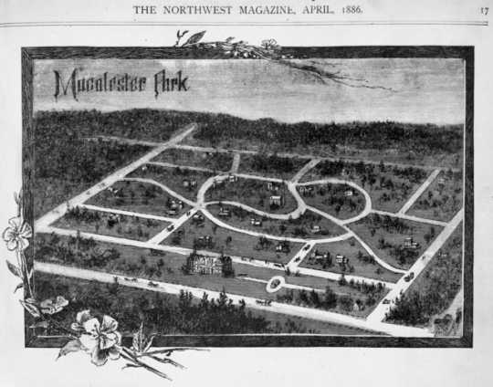 Photograph of Macalester Park