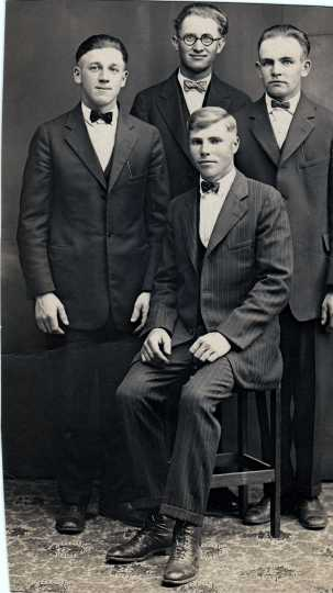 Photograph of the Wiebe Quartet