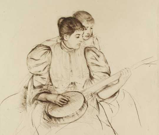 Banjo Lesson (Mary Cassatt)