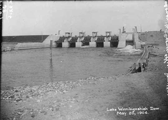 Winnibigoshish Dam.
