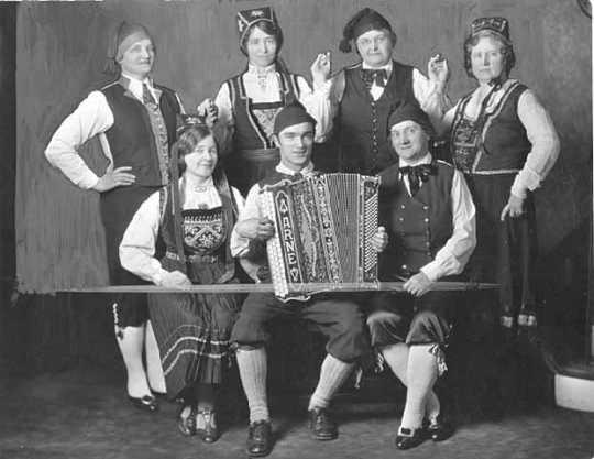 Norwegian American dancers
