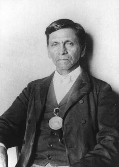Picture of Napoleon Wabasha, Ernest Wabasha's grandfather