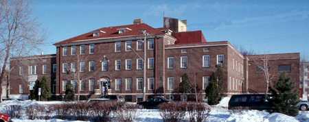 Color image of the Northeast Neighborhood House building, 2001.