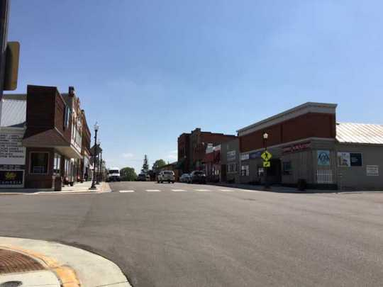Photograph of North Main Street, Harmony