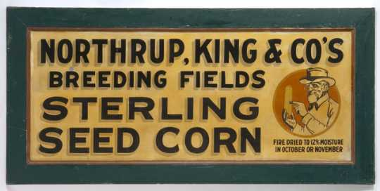 Northrup King trade sign