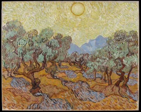 Olive Trees (Vincent Van Gogh)