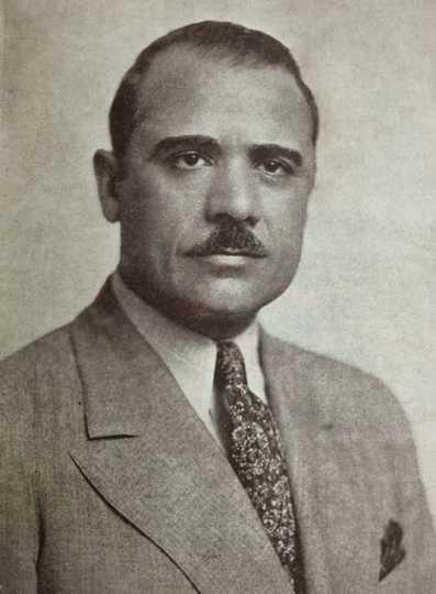 Black and white photograph of John T. Bernard, c.1938.