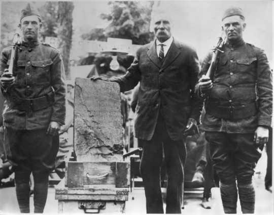 Gilbert Hanson, Olof Ohman, and John Eklaun