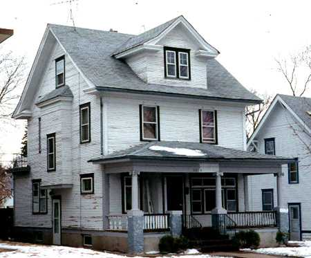 Color image of the Lena Olive Smith House, 1991.