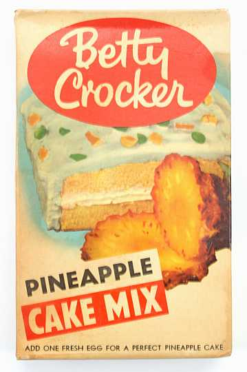 Pineapple Cake Mix
