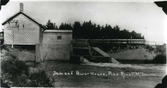 Pine River Dam and Power Plant