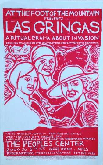 Program Cover, Nicaragua (Las Gringas), 1984.
