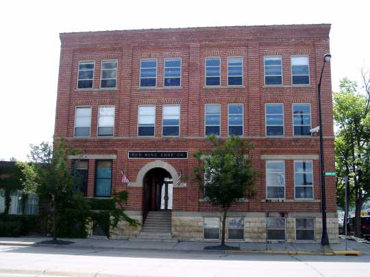 Red Wing Shoe Company, front view, 2010