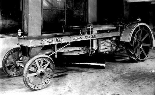 Ronning road planer prototype