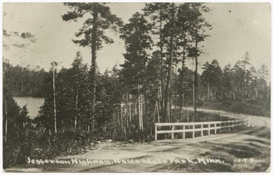 Jefferson Highway, Itasca State Park