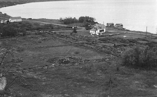 Grand Portage excavation site