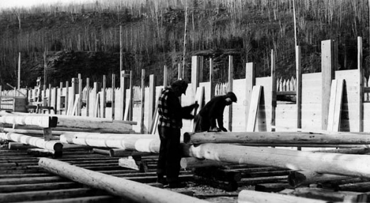 Reconstructing the Great Hall at Grand Portage